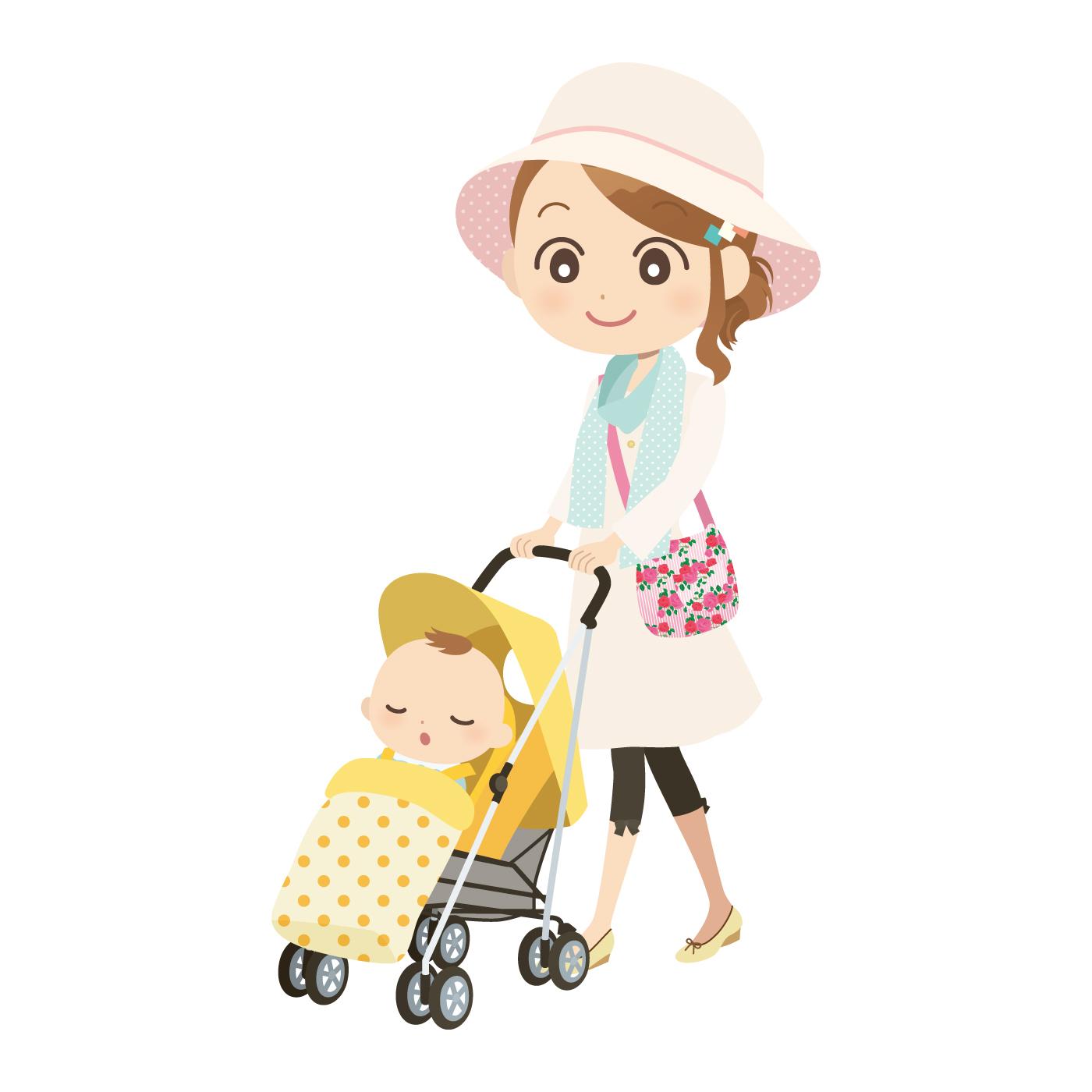 赤ちゃんと夏のお出かけ ベビーカーの時に気をつける。暑さと虫除け対策は?