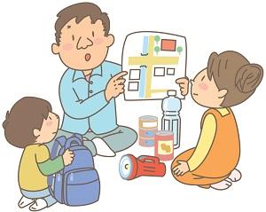 防災グッズのセット赤ちゃんがいる場合何を用意すれば良い?非常用袋の置き場所は?